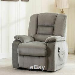 Heavy Duty & Safety Power Lift and Recliner Chair Armchair Lounge Sofa Furniture