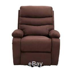 Homegear 2-Remote Microfiber Power Lift Electric Recliner Chair with Massage, Heat