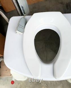 LIFTSEAT Power Commode Toilet Lift & Tilt Chair LS400