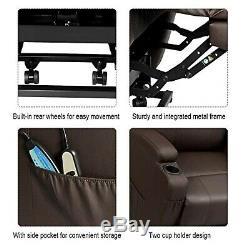 Lazy Boys Recliner Electric Lift Power Heated Vibration Massage Chair Ergonomic