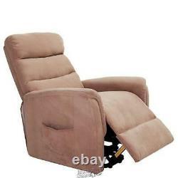 Lifesmart-Power Lift Chair Microfiber Beige 35.5Lx30.75Dx40H