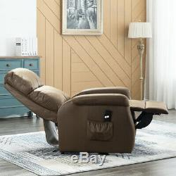 Lift Chair Electric Power Sofa Lounge Recliner Bedroom Overstuffed For Elderly