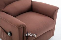 Lift Recliner Power Lift Chair sofa Soft and Warm Fabric with Remote Control