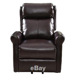 Luxury Electric Power Lift Recliner Chair Leather Lazy Affordable Living Room