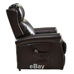 Luxury Power Lift Chair Recliner Armchair Indoor Electric Lazy Lounge Seat US