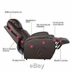Manual Power Lift Recliner Chair for Elderly Safety Motion Reclining Sofa Seat