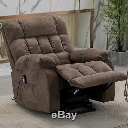Massage Chair Power Lift Recliner With Heat For Elderly Overstuffed Armchair