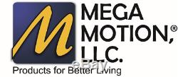 Mega Motion MM-3603 power lift chair, lay-flat chaise recliner, steel