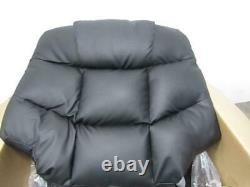 Merax Power Lift Recliner Chair PU Leather Black