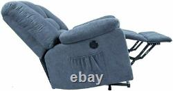 Microfiber Power Lift Electric Recliner Chair with Heated Vibration Massage Sofa