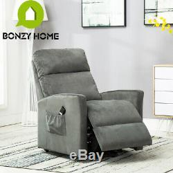 Modern Recliner Chair Electric Power Lift Sofa Living Room Pad Lounge F Elderly