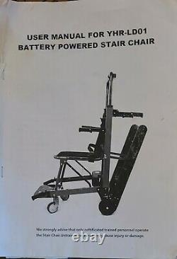 Motorized Climbing Wheelchair Stair Lift Chair Battery Powered Lift Chair