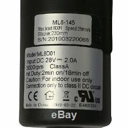Mulin ML 8-145 Motor Replacement for Power Lift Chair Recliner, 230 Stroke