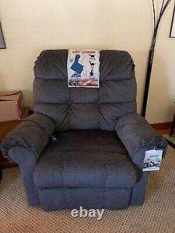 NEW Catnapper Omni Big Man 4827 2008/23 Power Lift Chair Recliner Ink Fabric