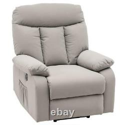 New Full Auto Electric Power Lift Massage Recliner Chair USB Vibration Control