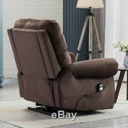 Oversize Electric Power Lift Massage Recliner Chair Heat Vibration Lounge Chairs
