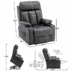 Oversized Chair Recliner Electric Power Lift Recliner Chair Sofa for Elderly