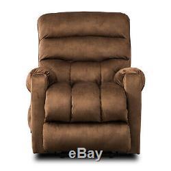 Overstuffed Power Lift Recliner Chair Heavy Duty Frame Sofa for Elderly Bedroom