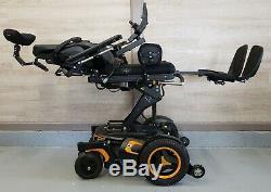 Permobil F3 Power Chair Corpus Seating Power Lift, Tilt, Recline, And Legs Roho