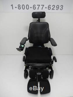 Permobil M3 Power Chair with 12 Seat Lift, Tilt, Recline, Legs & Attendant Cont