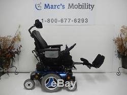 Permobil M400 Power Chair w 8 Seat Lift, Tilt, Recline, Legs Used Item#1028