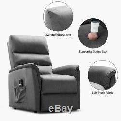 Power Lift Assist Electric Recliner Sofa Lounge Chair Furniture Remote Control