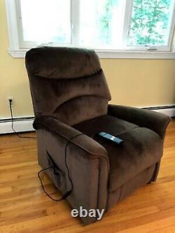 Power Lift Assist Recliner Chair (chocolate brown)