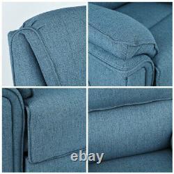Power Lift Chair Massage Recliner Auto Electric Sofa Heat Vibration for Elderly