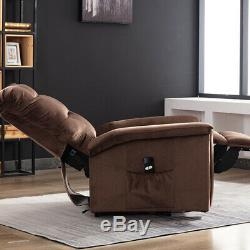 Power Lift Chair Recliner Lounge Sofa Armchair Ergonomic Padded Seat with Remote