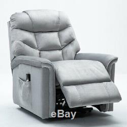 Power Lift Chair Recliner Waterproof Sofa Reclining Heavy Duty Seat Armrest withRC