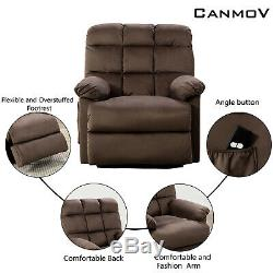 Power Lift Chair Recliner With Pocket Comfy Big Lazy Boy Sofa Chair for Elderly