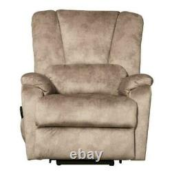 Power Lift Function Recliner Chair PU Leather Sofa Reclining Armchair couch