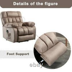 Power Lift Massage Chair Full Auto Electric Massage Recline Heat Assist Stand
