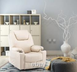 Power Lift Recliner Chair Electric Massage Chair with Heat Function Leisure Sofa
