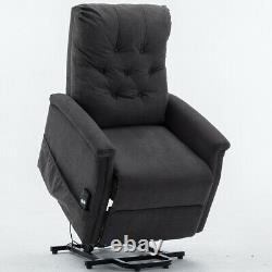 Power Lift Recliner Chair Electric Sofa Remote Control Tilt Recline for Elderly