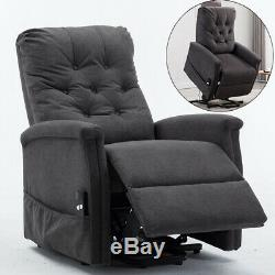 Power Lift Recliner Chair Electric Sofa with Remote Control Recline for Elderly