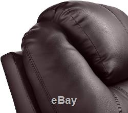 Power Lift Recliner Chair Electric Wall Hugger PU Leather Massage Heat Elderly