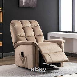 Power Lift Recliner Chair Sofa Bed Sleeper Electric Lifting Armchair Heavy Duty