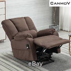 Power Lift Recliner Chair for Elderly Oversized Wide Seat Recliner Chair Sofa
