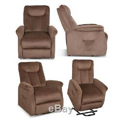 Power Lift Recliner Chair for Elderly Recliner Thick Padded Sofa Living Room WRC