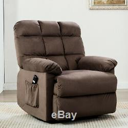 Power Lift Recliner Chair with Over Stuffed Armrest and Comfort Broad Backrest
