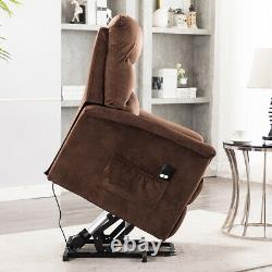 Power Lift Recliner Sofa Chair Help Stand Electric Remote Reclining Tilt Control