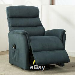 Power Lift Recliner Vibration Massage Heated Chair High Back Sofa Padded Seat