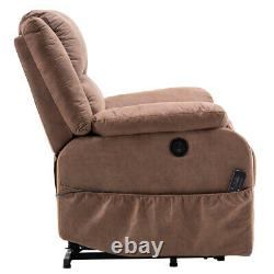 Power Lift Recliners Electric Remote Medical Seat Wall Hugger PU combination