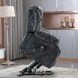 Power Massage Lift Recliner Chair With Vibration & Heat For Elderly Help Stand