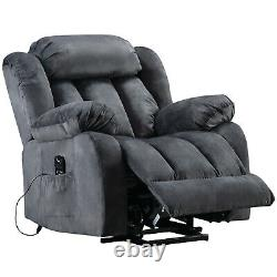 Power Massage Lift Recliner Chair with Heat & Vibration for Elderly