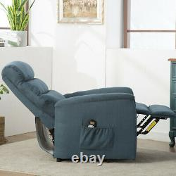 Power Recliner Lift Chair Electric Heated Massage Vibration Lounge Sofa Seat US