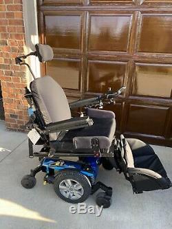 Quantum Q6 Edge Power Chair Power Wheelchair Reclines + Tilts + Feet Lift