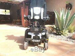 Quantum Q6 Power Chair With 10'' Lift / Tilt / Recline / Power Legs