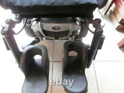 Quantum Q Edge Level Seat Wheel Chair Power Tilt Lift Recline Legs Large Wheels
